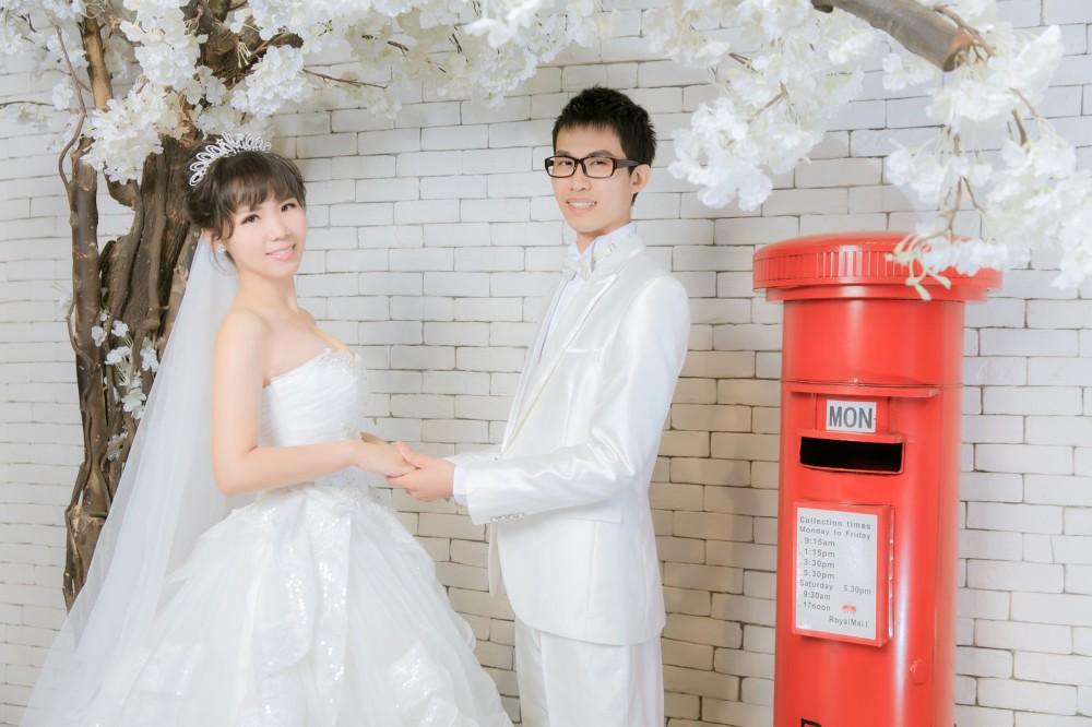 鄉村風婚紗照